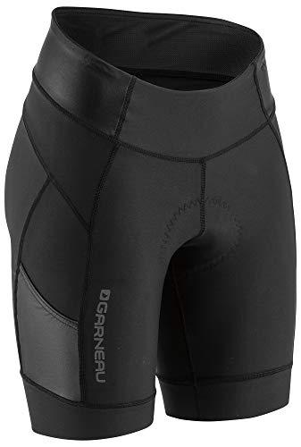 Louis Garneau, Women's Neo Power Motion 7 Bike Shorts, Black (New), Large