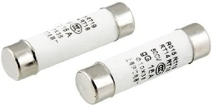 DealMux RT18 RT14 R015 10x38mm cer/ámica fusible Enlaces 500V 16A 5 PC