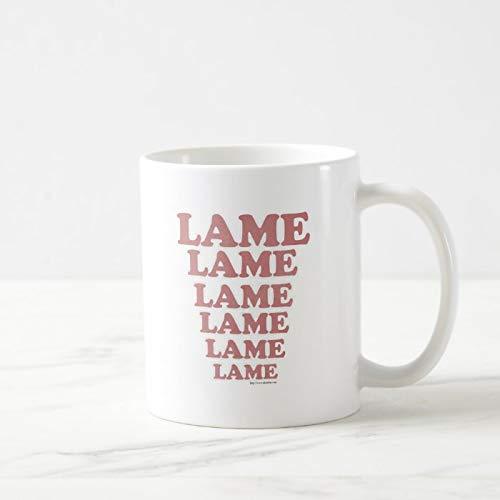 Divertida taza de café, Lame Adventure Park, taza de té, taza de café, taza de café, taza de café de 325 ml, regalo para mujeres y hombres