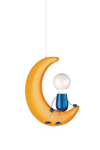 Massive Lunardo Suspension Lampes de Plafond 1 x 14 W 230 V Jaune