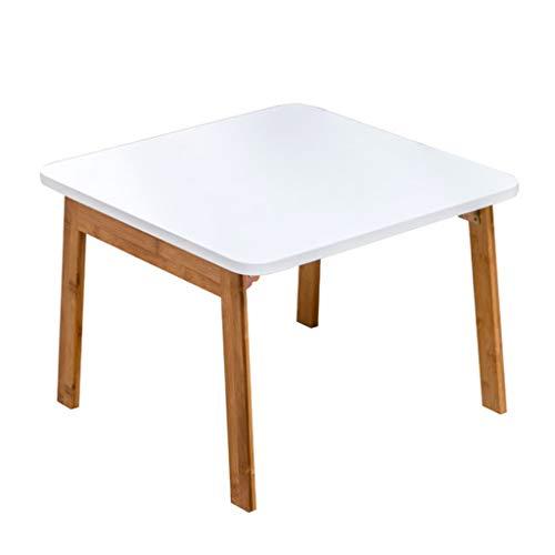 Tables D'étude Lit Tatami Basse Baie Vitrée De Lit Maison D'ordinateur Portable Balcon Basse Basse Carrée Pliable