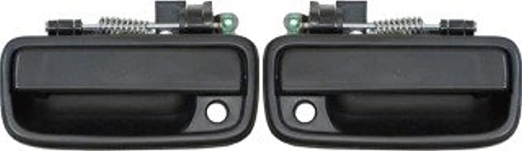 QP T1534//5-b Toyota Tacoma 4WD Black Passenger//Driver Front Outside Door Handle 2-pc Pair