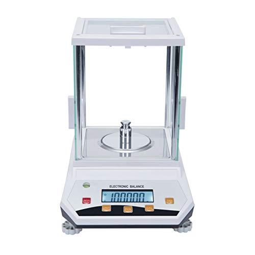 LICHUXIN 0.001g Digital Escalas Joyería Alta Precisión Básculas Balanza Analítica Electrónica Escala Multifuncional Escalas Digitales for Cocina/Oro/Laboratorio/Baking Medicine