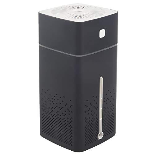 SovelyBoFan 1000Ml Humidificador De Aire Ultrasónico USB Difusor Aroma Aceite Esencial Led Luz De Noche Humidificador Purificador De Niebla Negro