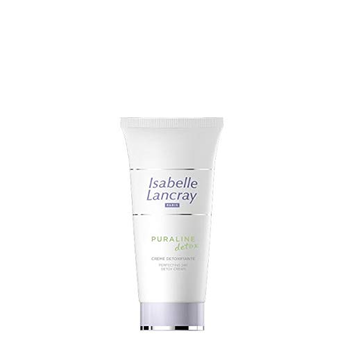 Isabelle Lancray Detox Gesichtscreme 24-Stunden Feuchtigkeit I Klärende Pflegecreme mit Zinksalz und Vitamin A I für reife, anspruchsvolle Mischhaut, 50ml