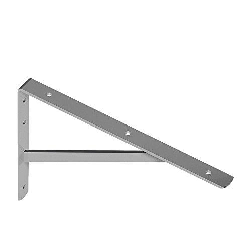 Element System 10913-00011 Konsole Schwerlast weiß-Alu 270x395mm, 270 x 395 mm