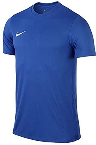 Nike Park VI, Camiseta de Manga Corta para hombre, Azul (Royal Blue/White), M