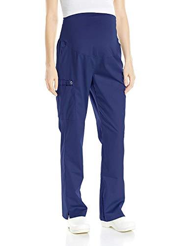 WonderWink Women's Wonderwork Maternity Pant, Navy, Medium