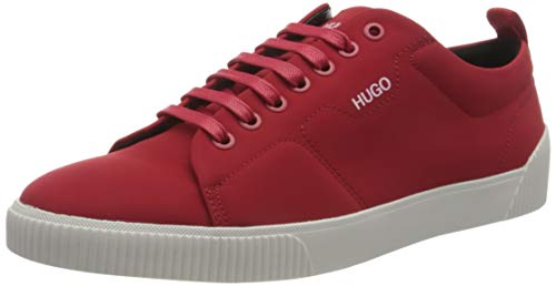 HUGO Herren Zero_Tenn_nypu Sneaker, Dark Red601,42 EU