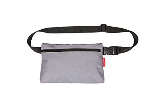 reisenthel beltbag flat Umhängetasche 27 x 17,5 x 1,5 cm / 2 l / Polyester reflective