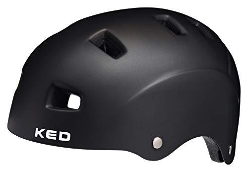 KED 5Forty Helm Kinder Black matt Kopfumfang M   54-58cm 2020 Fahrradhelm