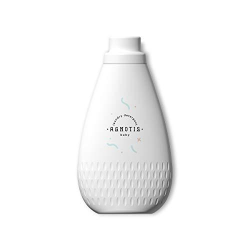 AGNOTIS Baby Waschmittel flüssig   Vollwaschmittel sensitiv   93% pflanzenbasiert mit Extrakt aus Calendula und Bio-Kamille   antiallergisch für empfindliche Baby Haut, hygienisch, 1000ml Flasche