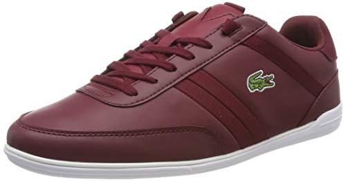 Lacoste Herren Giron 416 1 SPM SPM0062112 Sneaker, Mehrfarbig (Maroon 001), 40.5 EU