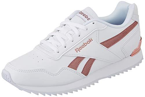Reebok Royal Glide RPLCLP, Zapatillas de Running Mujer, Blanco/BLUSMT/Blanco, 38.5 EU