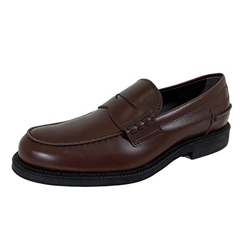 Tod's D79 Mocassino Uomo 80B Brown Shoes Loafer Man [9]