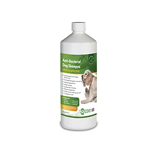 Aqueos Antibacterial, Antiviral & Antifungal Dog Shampoo | Anti-Itch | Smelly or...