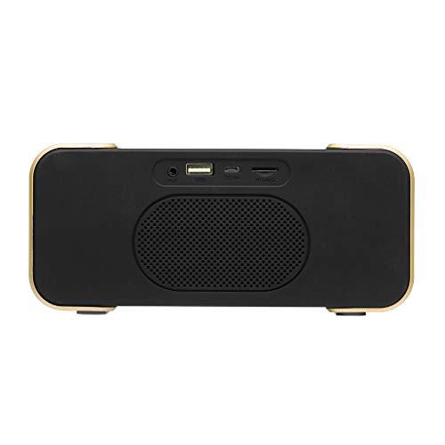 Drahtloser Bluetooth 4.2 Lautsprecher Tragbarer Subwoofer Super Bass Stereo Lautsprecher, Bluetooth Lautsprecher Mobiler Digital Fm Radio,Mp3 Player, Kompatibel Mit Iphone, Samsung Usw