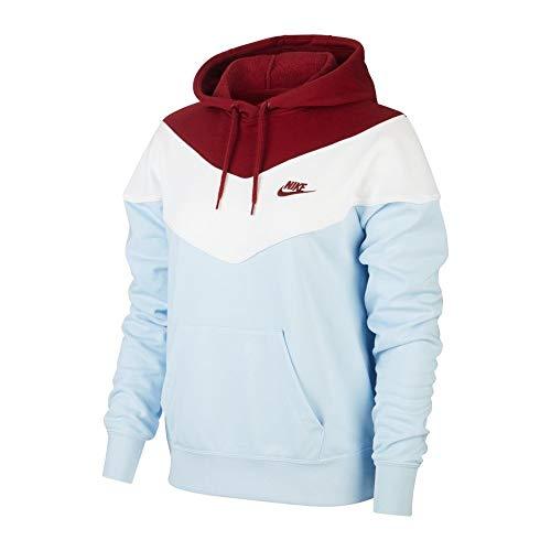 Nike Sudadera de mujer Sportswear Sudaderas con capucha cuello redondo para casa Corsa XS