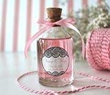 Confezione da 130 piccole bottiglie di vetro con tappo in sughero (50ml), ideale per piccoli regali e bomboniere.