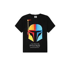 Disney Camiseta oficial de Star Wars Boba Fett Character de algodón para hombre 16