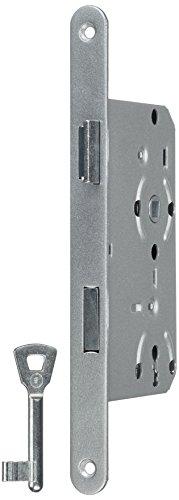 HSI 286510.0 Einsteckschlösser für Zimmertüren Stulpe rund rechts BB 72mm 1 St