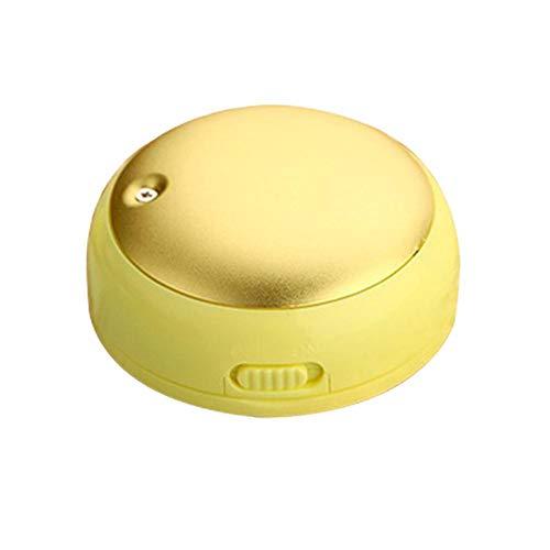 Hook.s Mini Calentador de Manos, Calentador de Manos con Forma de Fruta Electrica, Cargador de Calentador de Manos con Espejo de Maquillaje Recargable y Sin Agua, Estudiante de Lady Power Bank