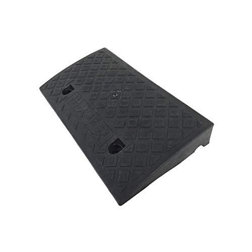 QNN Rampas de Carga, Plataforma Inclinada Rampas de Carga, 5 cm / 7 cm de Alto Rampas de Acera para Sillas de Ruedas Rampas de Umbral Antideslizantes de Plástico para Interiores Alfombrilla para Esca
