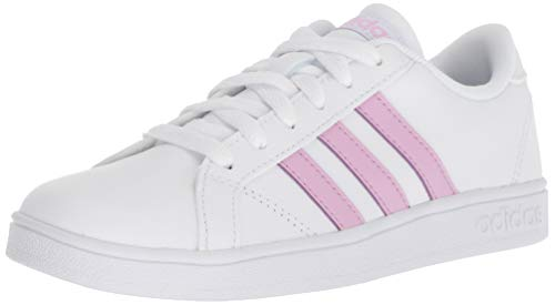adidas Performance Unisex-Kids Baseline, White/Clear Lilac/White, 1 M US Little Kid
