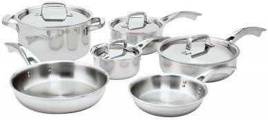 Zwilling J.A. Henckels TruClad Stainless Steel Cookware Set - Zwilling Stainless Steel Cookware Reviews