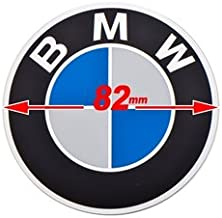 EnDuraLast Replacement BMW Logo Round Emblem 82mm Compatible BMW Airhead, Oilhead Motorcyles 52 53 7 686 465