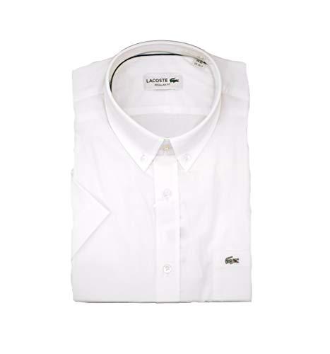 Lacoste Camisa para hombre. blanco 37