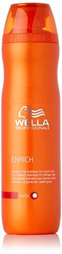Wella Professionals Enrich unisex, Feuchtigkeitsspendendes Shampoo für kräftiges Haar 250 ml