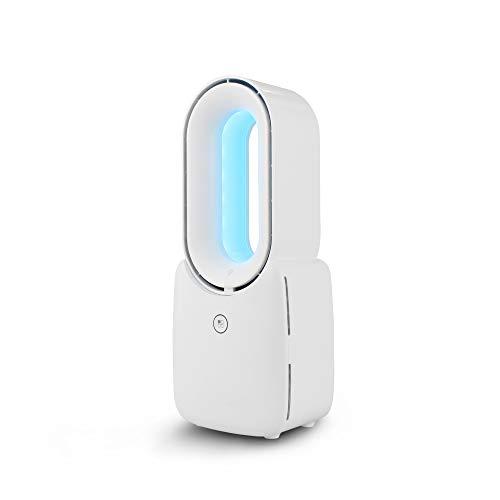 BENEXMART Tuya Ventilador inteligente sin aspas con luz nocturna colorida Alexa Google Control del hogar Cuidado del bebé Ventilador sin hojas de bajo ruido