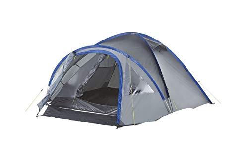 Crivit Tienda de campaña tipo iglú para 4 personas, tienda de campaña, oscurecida, columna de agua de 3000 mm