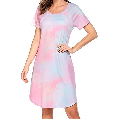 AMhomely Vestidos de maternidad para mujer en Reino Unido, ropa de maternidad embarazada, lactancia materna colorida vestido casual pijama verano talla grande vestido bodycon fiesta maxi vestidos