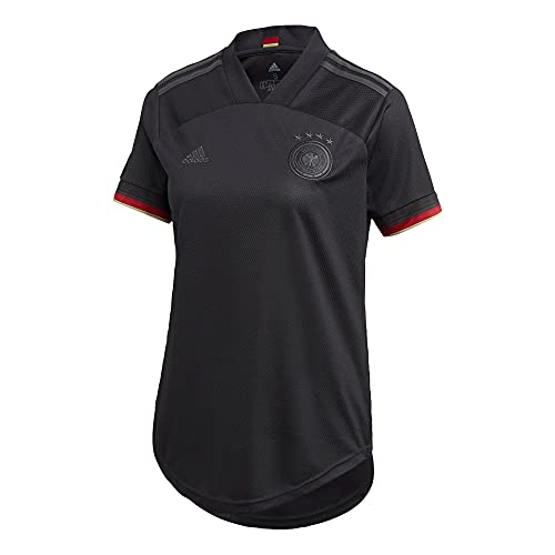 adidas Damen T-Shirt DFB A JSY W, Black, S, EH6115