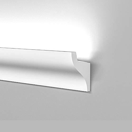Profilo cornice strip Led illuminazione indiretta soffusa veletta a soffitto parete incasso o esterno...