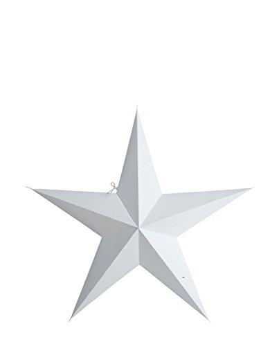 House Doctor - Stern, Weihnachtsstern - Papier - weiß - 60 cm