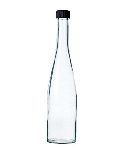 酒瓶 ワイン瓶 ALS500STD-F 500ml (黒ネジCAP)