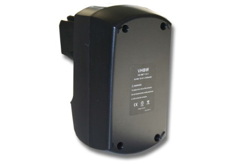 vhbw Batterie 2100mAh (14.4V) pour Outil Metabo BSZ 14.4, BSZ 14.4 Impuls, SBZ 14.4 Impuls, SBZ14.4 Impuls, ULA9.6-18 comme 6.25482.