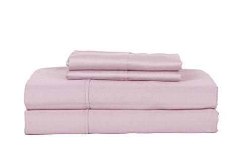 Preisvergleich Produktbild RDM Koncept 400 TC 2, 5 cm quadratisch Fenster Scheibe-Bettlaken-Set,  Lavendel,  Queen