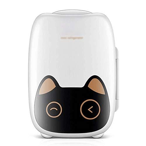 ZJHDX compacte koel-/warmer, mini-koelkast/wijnkoeler met digitale thermostaat + dual-core-koeling voor auto's, autoreizen, privéhuishoudens, kantoren en slaapzalen