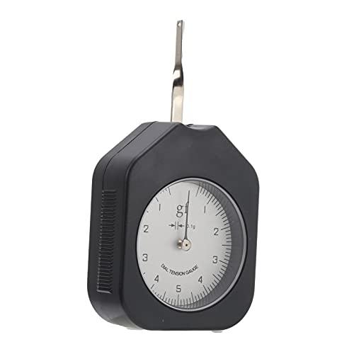 Snufeve6 Indicador de tensión de dial, dinamómetro Manual Prueba de tensión de aleación de Aguja única para Interruptor electrónico para presión de Contacto de relé para microinterruptor