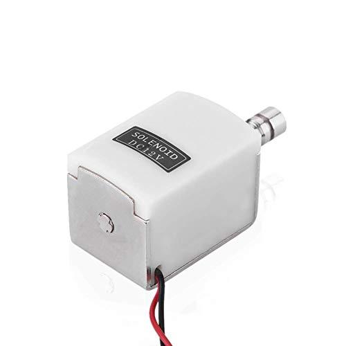 Pequeño perno eléctrico, cerradura de puerta electromagnética, sistema de control de acceso adecuado para cerradura electrónica de seguridad del cajón de la puerta