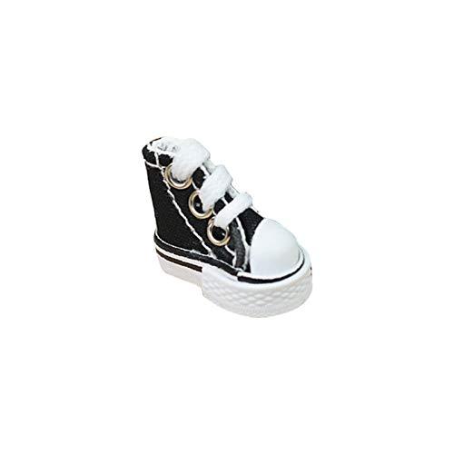 Mini Canvas Puppen Schuhe Spielzeug Cute Skate Board Schuh Griffbrett Schuh für Finger Breakdance Griffbrett,1.380.791.18in