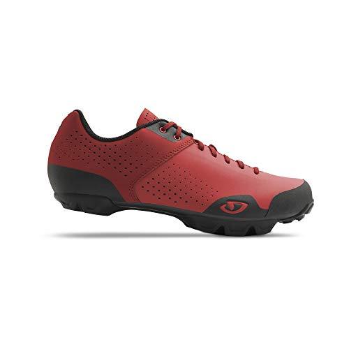 Giro Privateer Lace, Zapatillas MTB Trail Cyclocross para Hombre, Hombre, Zapatillas MTB Trail Cyclocross, Rojo Brillante Rojo Oscuro, 11 UK