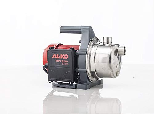 AL-KO Gartenpumpe GPI 600 ECO, Leistung 580 W, max. Fördermenge l/h 3100, rostfreier Edelstahl-Pumpenkopf