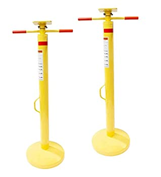 Mytee Products  2 Pack  Semi Trailer Stabilizing Jack Stand 50,000 Lbs Static Capacity