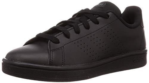 adidas EE7693 Advantage Base heren sneaker van imitatieleer flexibele loopzool, maat 40, zwart