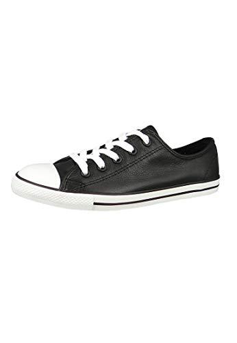 Converse Lederchucks Women - CT Dainty OX 537107 - Black, Schuhgröße:36